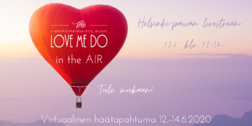 Love me do in the AIR - Virtuaalinen häätapahtuma Senaatintorilla