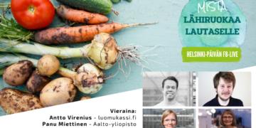 Helsingin Keskusta esittää: Mistä lähiruokaa lautaselle?